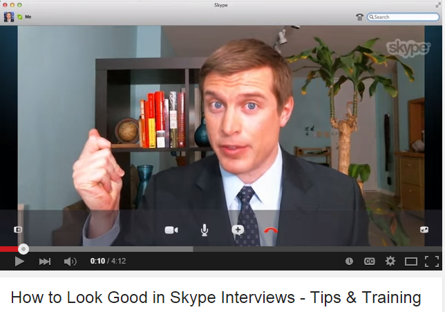 Video Interview_How to look good in Skype Interviews_photo