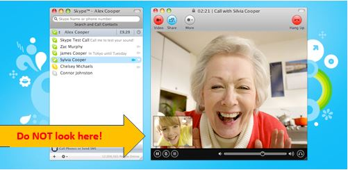 Video Interview_Skype screen preview_photo