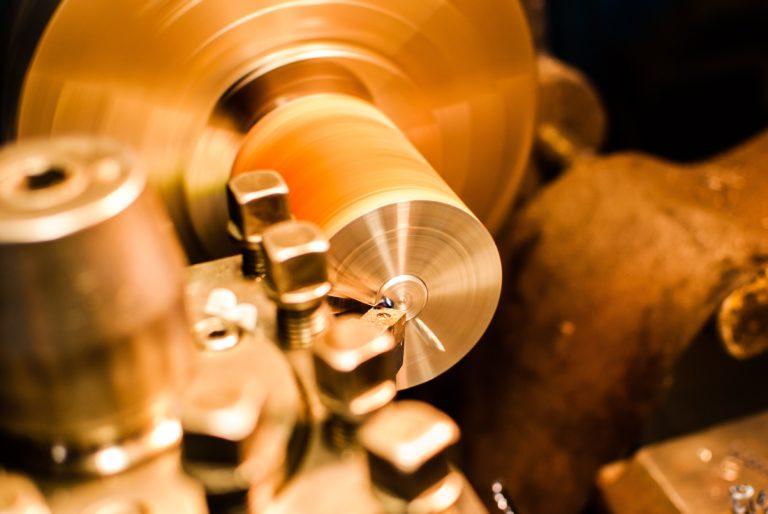 an industrial grinder